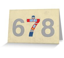 Prime Number Greeting Card