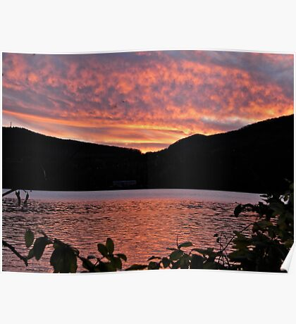 Cold Spring over the Hudson Poster