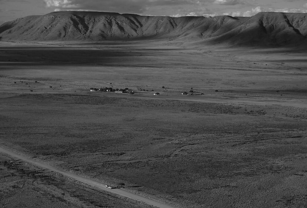 lone wanderer by Michael Bateman