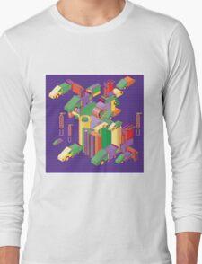 abstract robot machine Long Sleeve T-Shirt