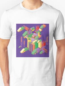 abstract robot machine Unisex T-Shirt