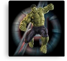 Hulk - the unstoppable force Canvas Print