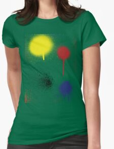 SPLAT #2 Womens Fitted T-Shirt