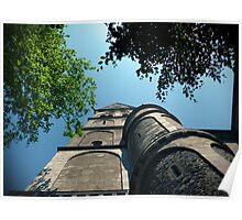 A church sky Poster