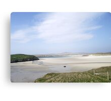 Hazy Summer Day, Uig Bay Lewis Canvas Print