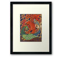 The Harbinger Birds Framed Print