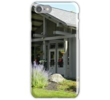 Peaks of Otter Lodge - Front View iPhone Case/Skin