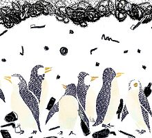 The Gifts To Penguins by aniark