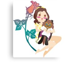 Beauty and her Beast Metal Print