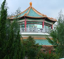 Neighborhood Pagoda by Lesley Rosenberg