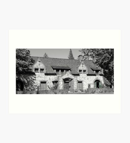 The Bourne Cottage Art Print