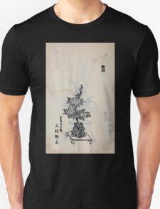 Yenshu ryu ikebana hiak bin no zu shiki konzatsu Flower arrangement in the Enshu style V2 1897 0006 T-Shirt