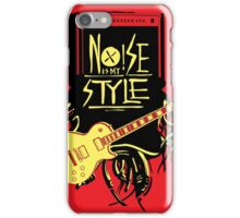 noise music is my style iPhone Case/Skin
