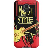 noise music is my style Samsung Galaxy Case/Skin