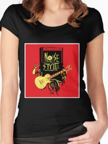 noise music is my style Women's Fitted Scoop T-Shirt