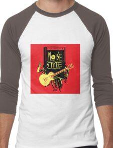 noise music is my style Men's Baseball ¾ T-Shirt