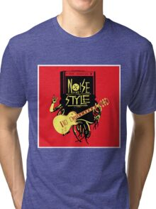 noise music is my style Tri-blend T-Shirt