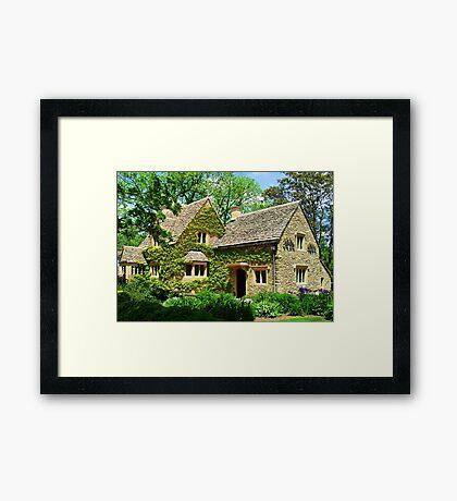 Cotswold Cottage Framed Print