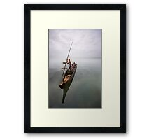 The fishing was good; it was the catching that was bad Framed Print