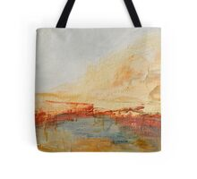 Zoom to Red house on the lake Tote Bag