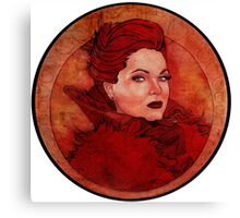OUAT: The Evil Queen Canvas Print