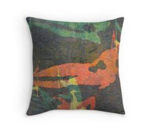 Cetology (from Meditations on Moby Dick) Throw Pillow