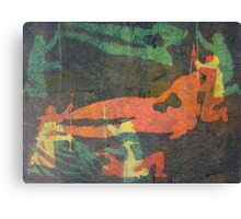 Cetology (from Meditations on Moby Dick) Canvas Print