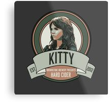 Brownstone Brewery: Kitty Winters Hard Cider Metal Print
