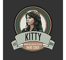 Brownstone Brewery: Kitty Winters Hard Cider Photographic Print