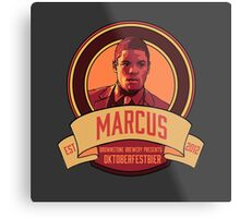 Brownstone Brewery: Marcus Bell Oktoberfestbier Metal Print