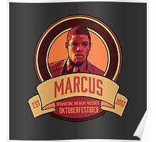 Brownstone Brewery: Marcus Bell Oktoberfestbier Poster