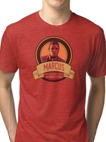 Brownstone Brewery: Marcus Bell Oktoberfestbier Tri-blend T-Shirt