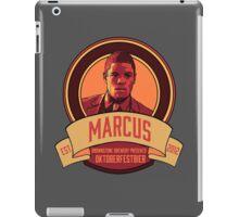 Brownstone Brewery: Marcus Bell Oktoberfestbier iPad Case/Skin
