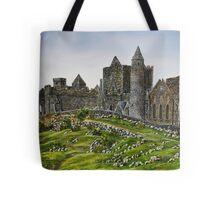 Rock of Cashel, Ireland (Carraig Phadraig) - oil painting Tote Bag