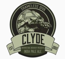 Brownstone Brewery: Clyde 'Shameless Diva' IPA Kids Tee