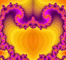 Fractal Heart by Sandra Lock