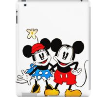 Mickey & Minnie Mouse  iPad Case/Skin