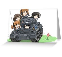 Girls und Panzer Greeting Card