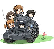 Girls und Panzer Photographic Print