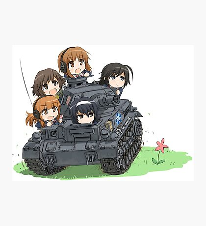 Girls und Panzer Photographic Print