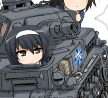 Girls und Panzer Sticker
