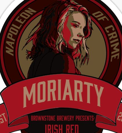 Brownstone Brewery: Jamie Moriarty Irish Red Sticker