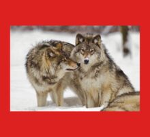 Love you sweetie... - Timber Wolves Baby Tee