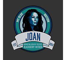 Brownstone Brewery: Joan Watson Blackberry Witbier Photographic Print