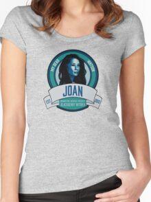 Brownstone Brewery: Joan Watson Blackberry Witbier Women's Fitted Scoop T-Shirt