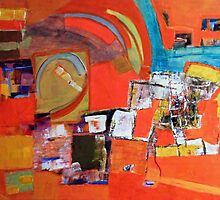 amérindian's colors by Isabelle Nivet