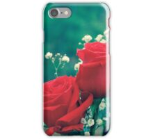 Three Roses in Process iPhone Case/Skin