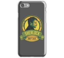 Brownstone Brewery: Sherlock Holmes Honey Lager iPhone Case/Skin