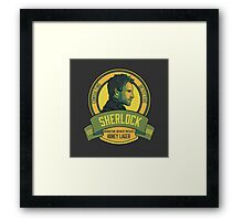 Brownstone Brewery: Sherlock Holmes Honey Lager Framed Print