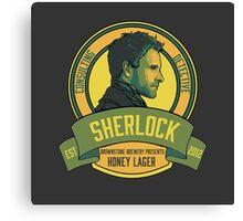 Brownstone Brewery: Sherlock Holmes Honey Lager Canvas Print